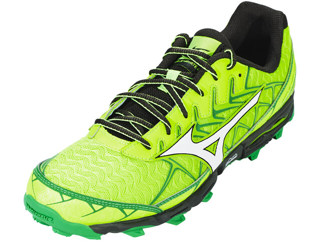 Mizuno Wave Hayate 4 Shoes Men Green Gecko/White/Forest Night